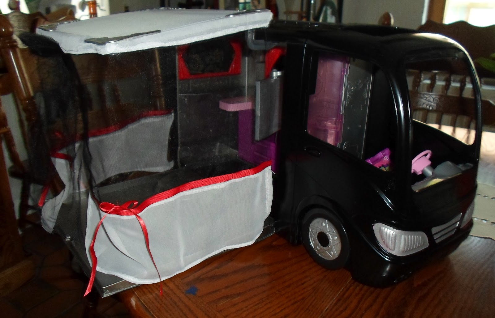 Sewing By Shirley Convert Your Barbie Camper To A Monster