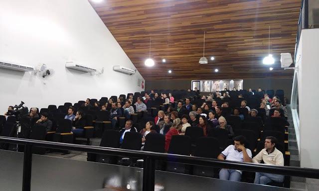Prof.Odair participa das 12 reuniões para elaboração do Plano Municipal de Educação