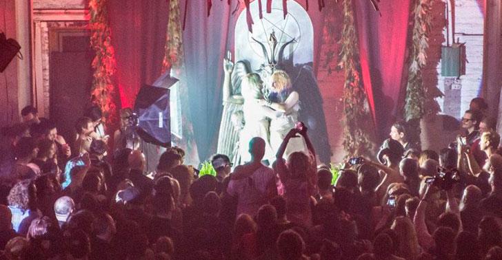 Primeira Marcha para Satanás no Brasil - Ritual Satânico em Detroit