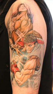 Balrog e Ryu Tattoo