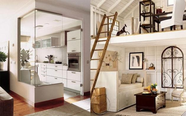 Marta decoycina grandes soluciones para peque os espacios - Como pintar un piso pequeno ...