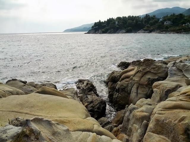Rocks Vourvourou Sithonia Greece