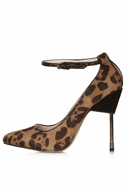leopard print shoes topshop