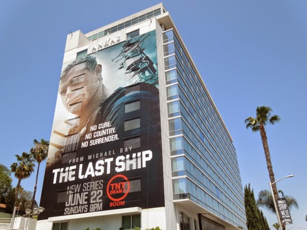 Last Ship giant series premiere billboard