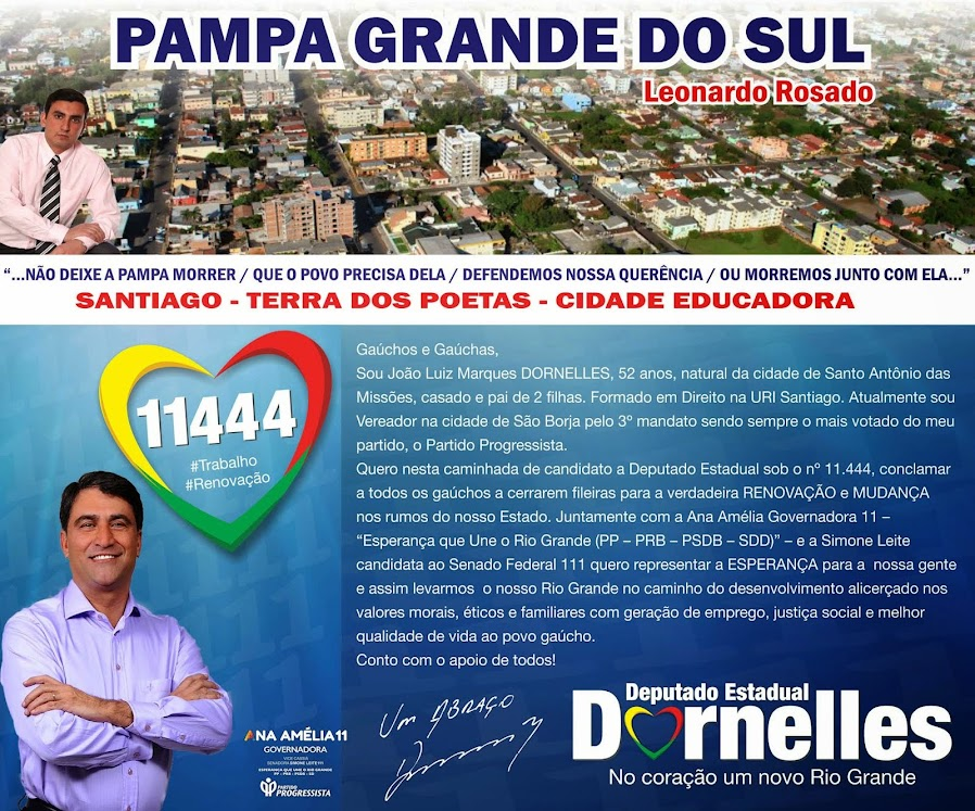 LEONARDO ROSADO - Pampa Grande do Sul