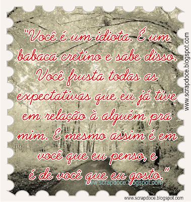 Recadinho com frase de Caio Fernando de Abreu para compartilhar no Facebook