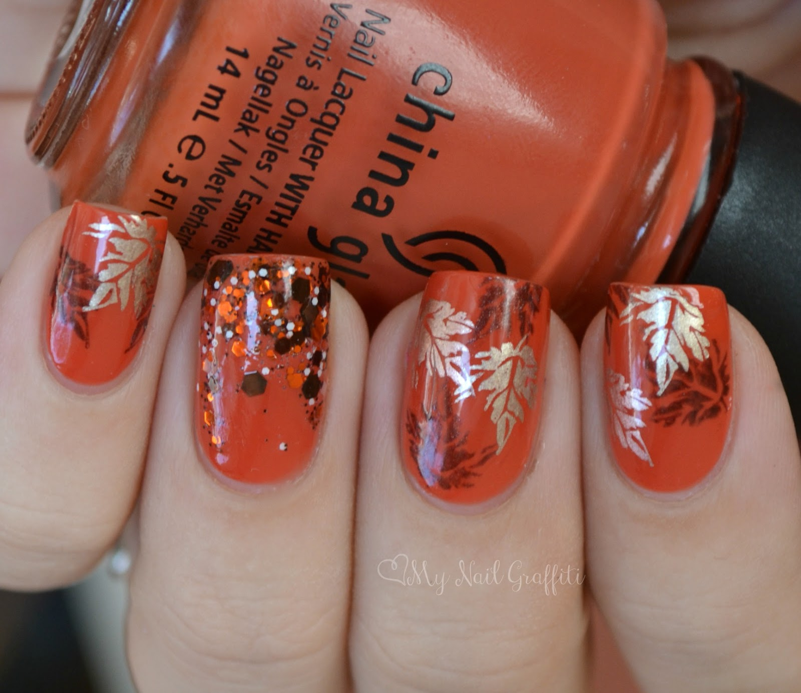 Autumn Color Nail Art The Best Inspiration For Design And Color Of