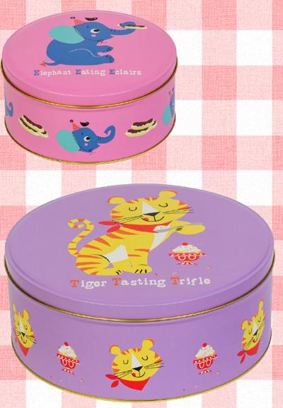 Pattern Cake Tins