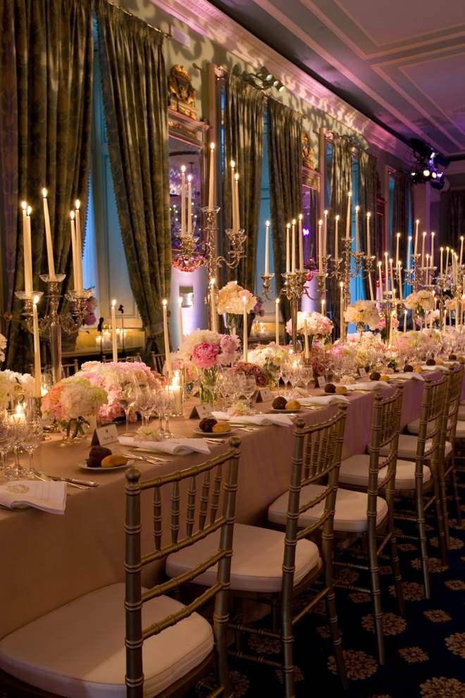 The best wedding receptions and ceremonies of 2012 belle for Wedding ceremony table decorations