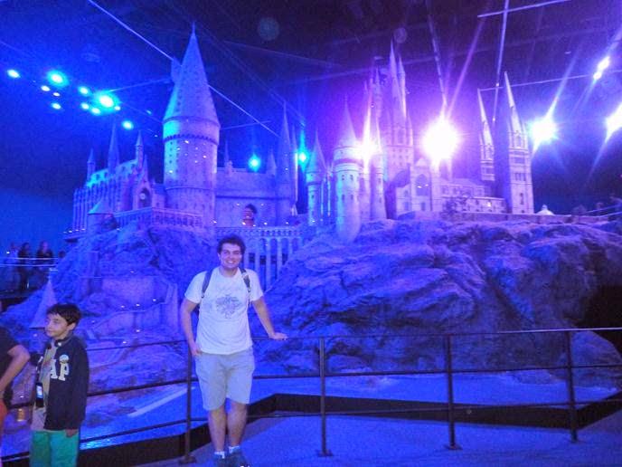 A Maquete de Hogwarts - Visitando os Estúdios de Harry Potter em Londres