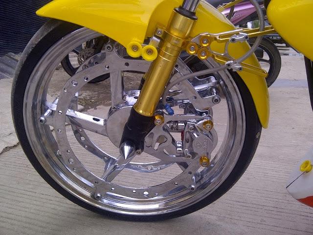 Modifikasi Satria F150