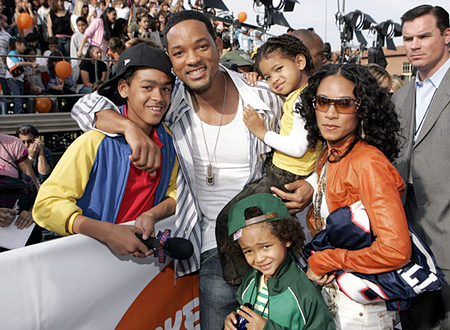 will smith family 2011. Will Smith Family