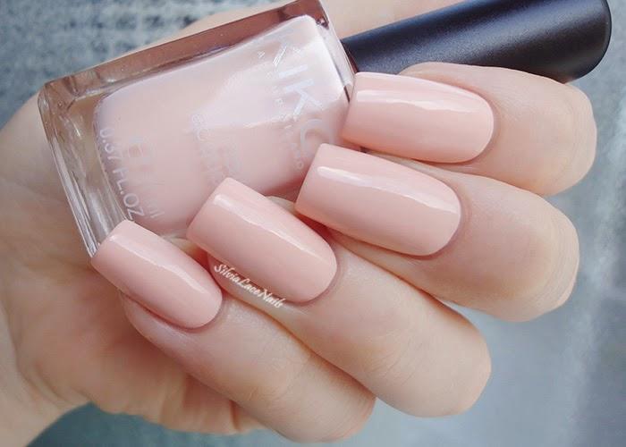 Molto Silvia Lace Nails: KIKO 507 Blush: swatches and review MV93