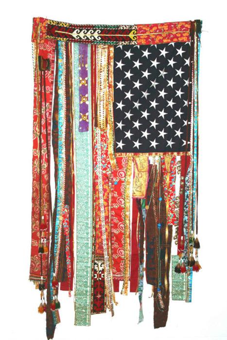 boho american flag