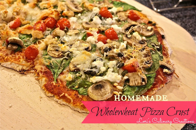 Homemade Wholewheat Pizza Crust from www.anyonita-nibbles.com