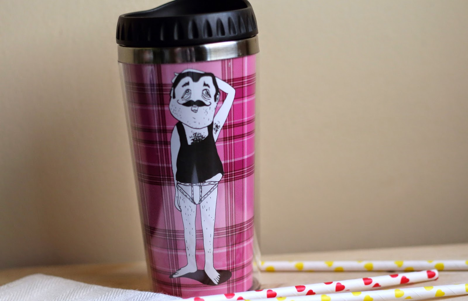 cute thermal mug