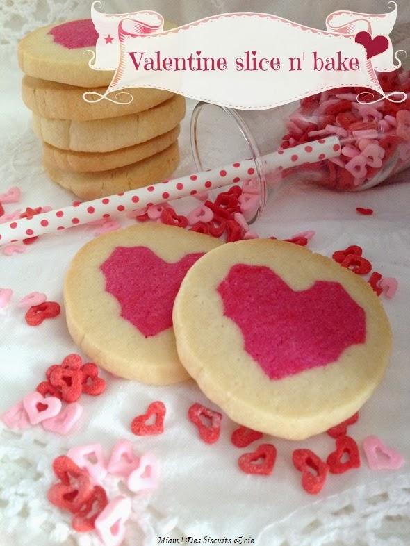 Biscuits coeurs pour la Saint-Valentin - Miam ! Des biscuits