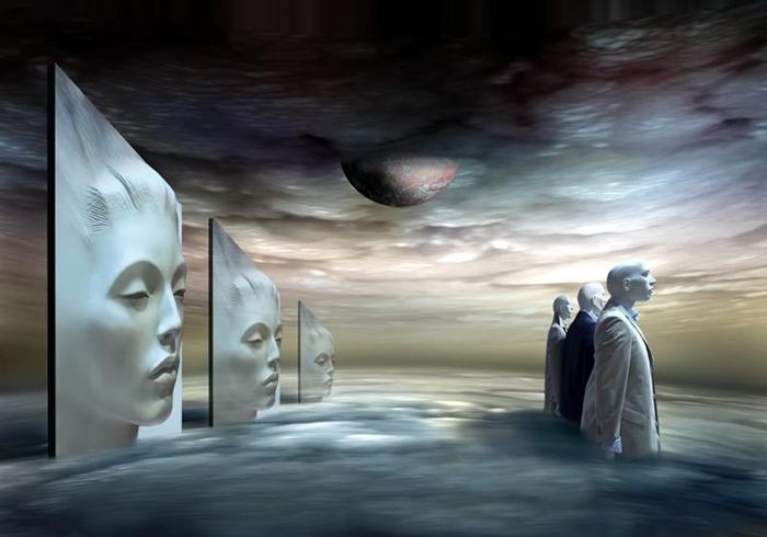 Ben Goossens 1945 | Surrealistic Digital Art