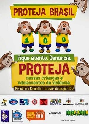 "Material da campanha ""PROTEJA BRASIL""  já está disponível"
