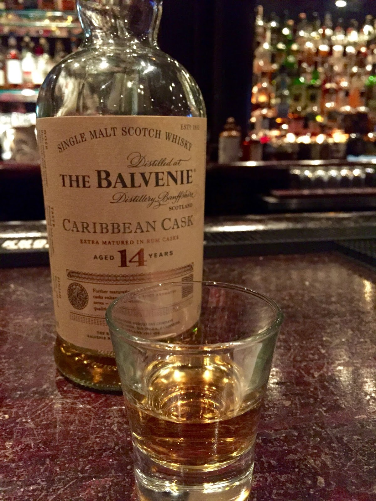 The Balvenie 14 Caribbean Cask