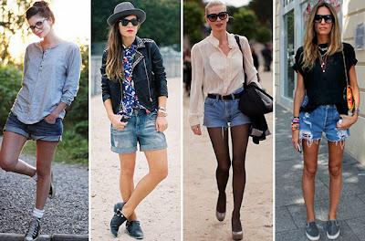 Modelos e fotos de tendências da Moda Jeans Feminina