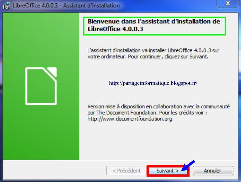 Partage informatique alternative libre office et mise jour int gr es - Libre office pour windows ...