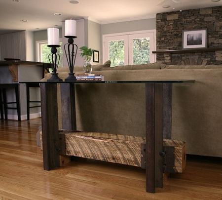 muebles de madera materiales reciclados