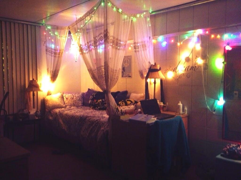 Dorm rooms lights - Dorm Room Inspiration