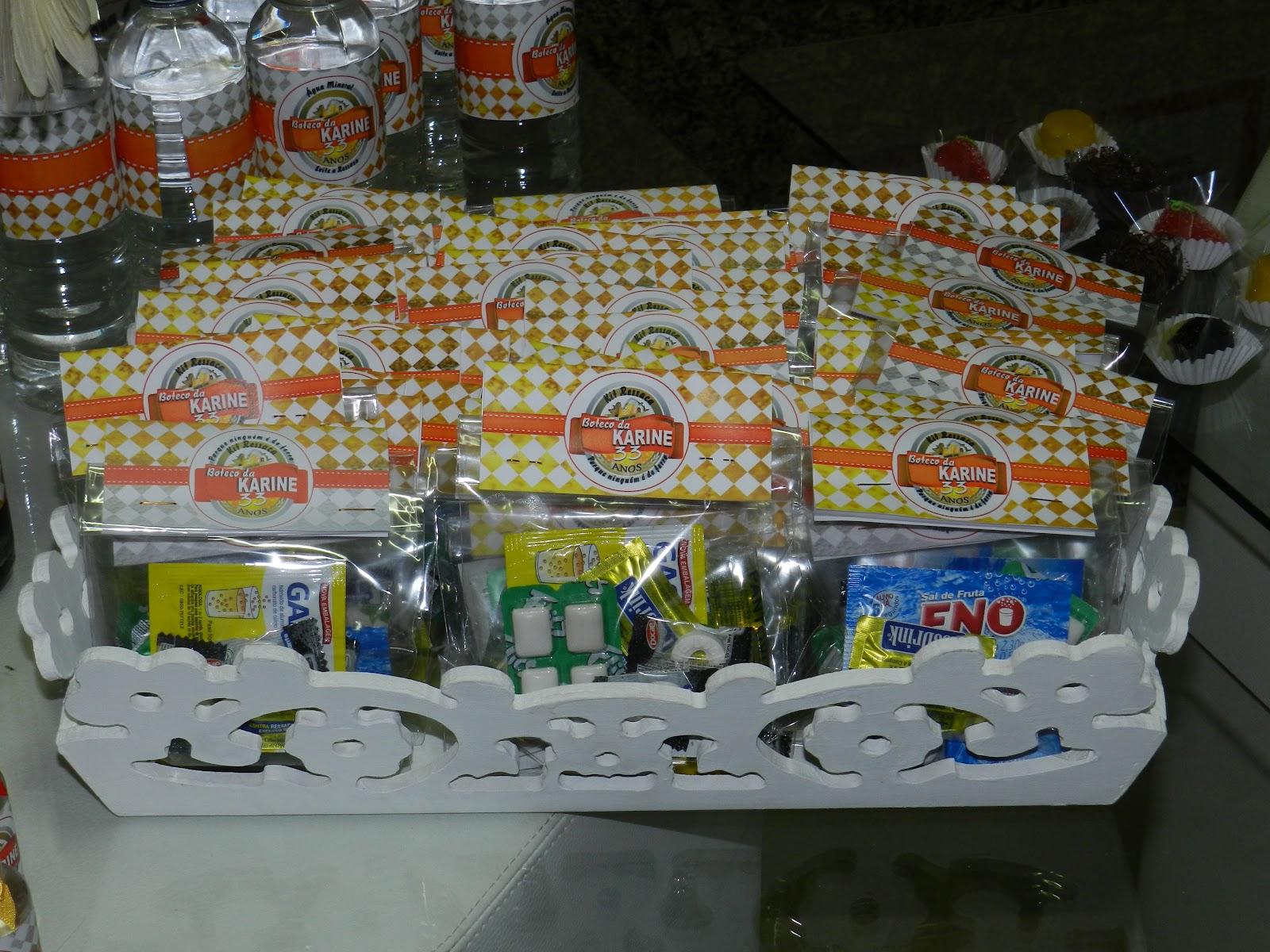 decoracao boteco brahma : decoracao boteco brahma:melhor da festa, KIT RESSACA (sal de fruta eno,epocler,bala menta
