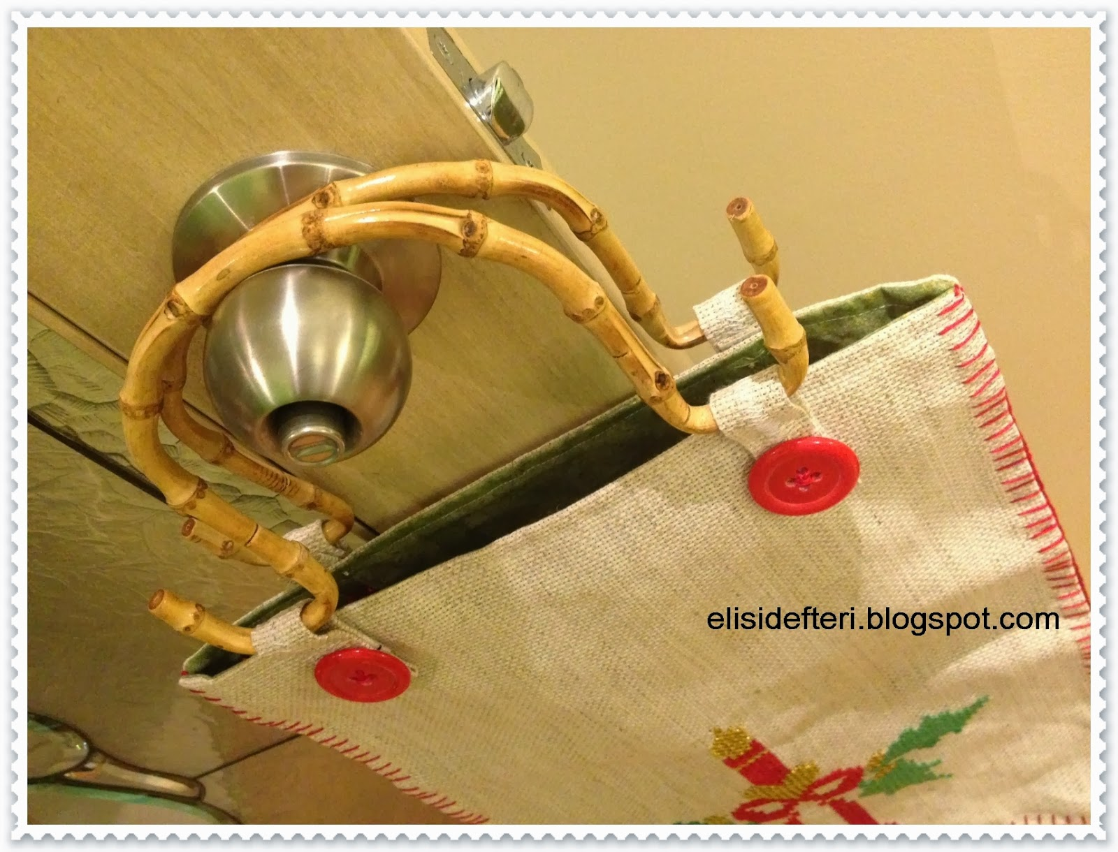 crosstitch handmade bag