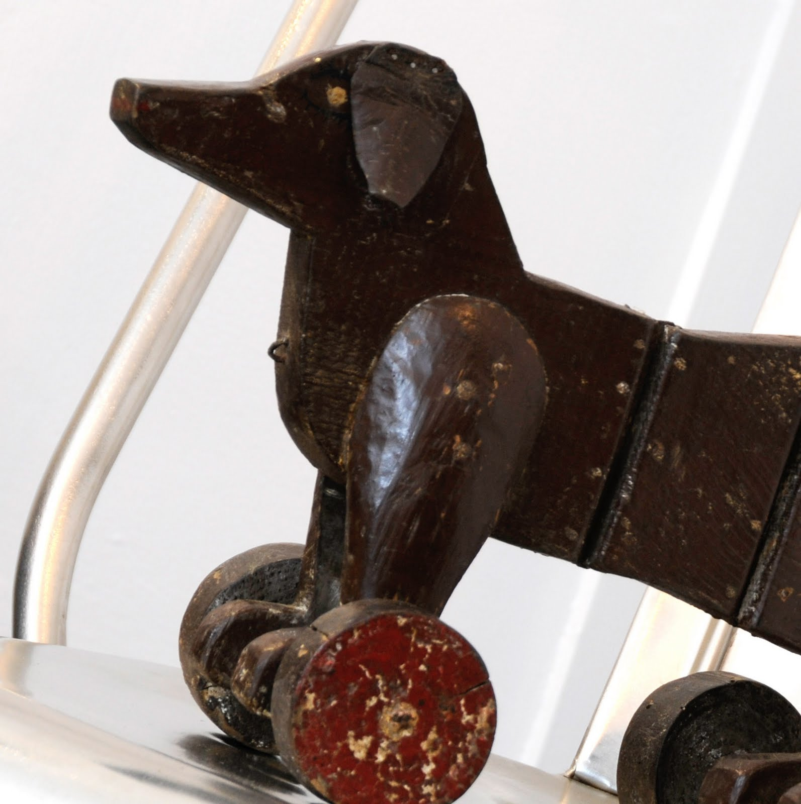 Chair from Anton & K, toy dog from Newsum Antiques title=