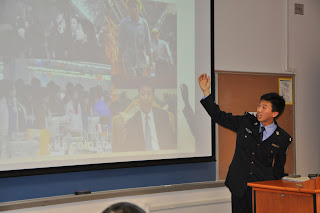 Rusong Xu (Daniel) discusses crime prevention efforts in China.