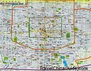 Xian Downtown Map