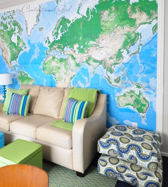 Lilyfield life world map mural walls gumiabroncs Gallery