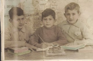 JOSE, MANOLIN Y MIGUEL MARTINEZ VELASCO AÑO 1950