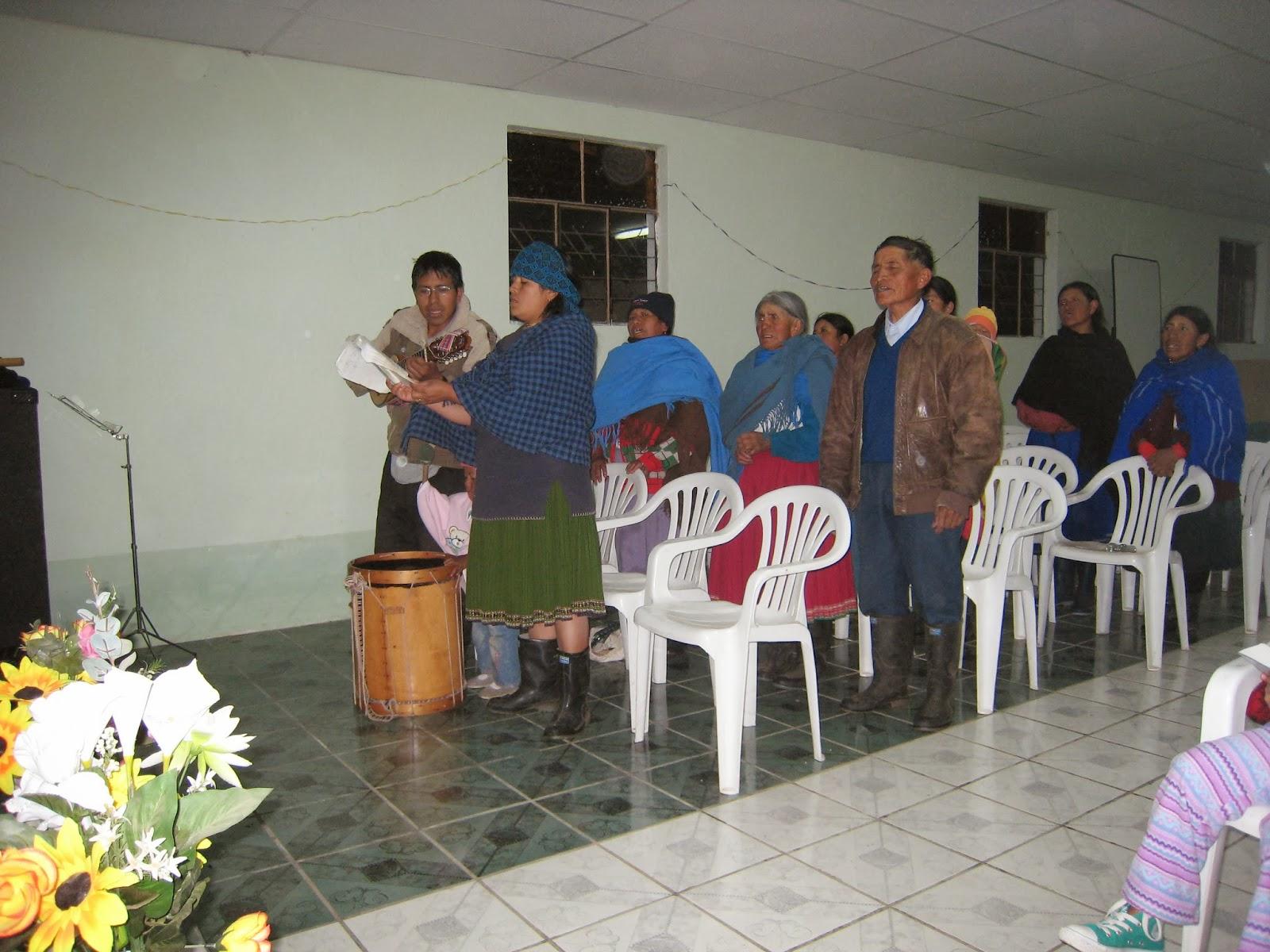 Kichwas from Zuleta
