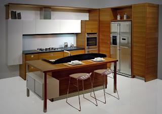 Offerte cucine prezzi e arredamento della cucina isole e penisole soluzioni per delimitare - Soggiorno angolo cottura soluzioni ...