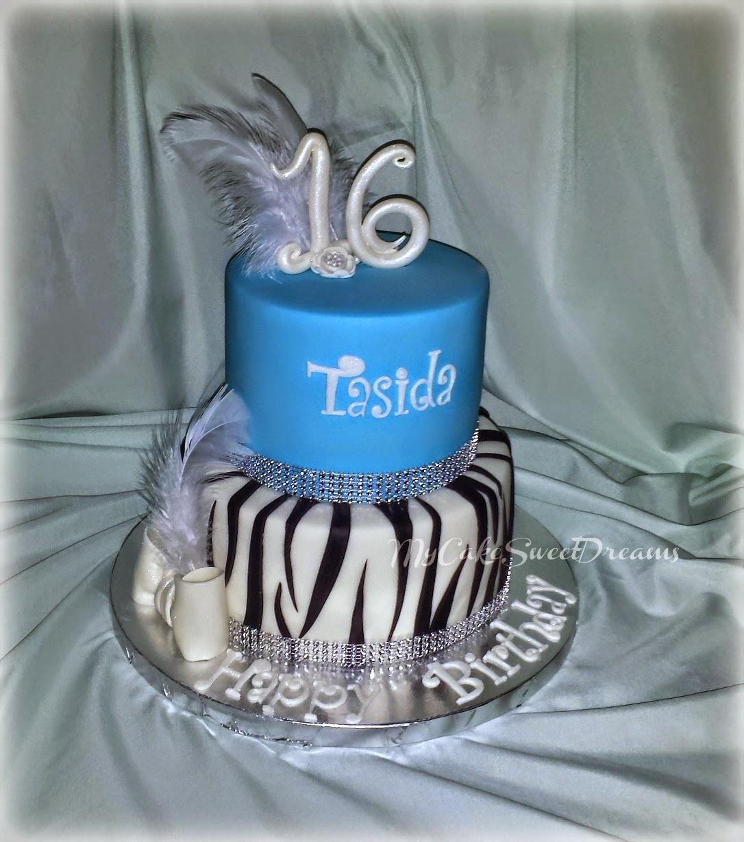 My Cake Sweet Dreams: Sweet 16 Birthday Cake..