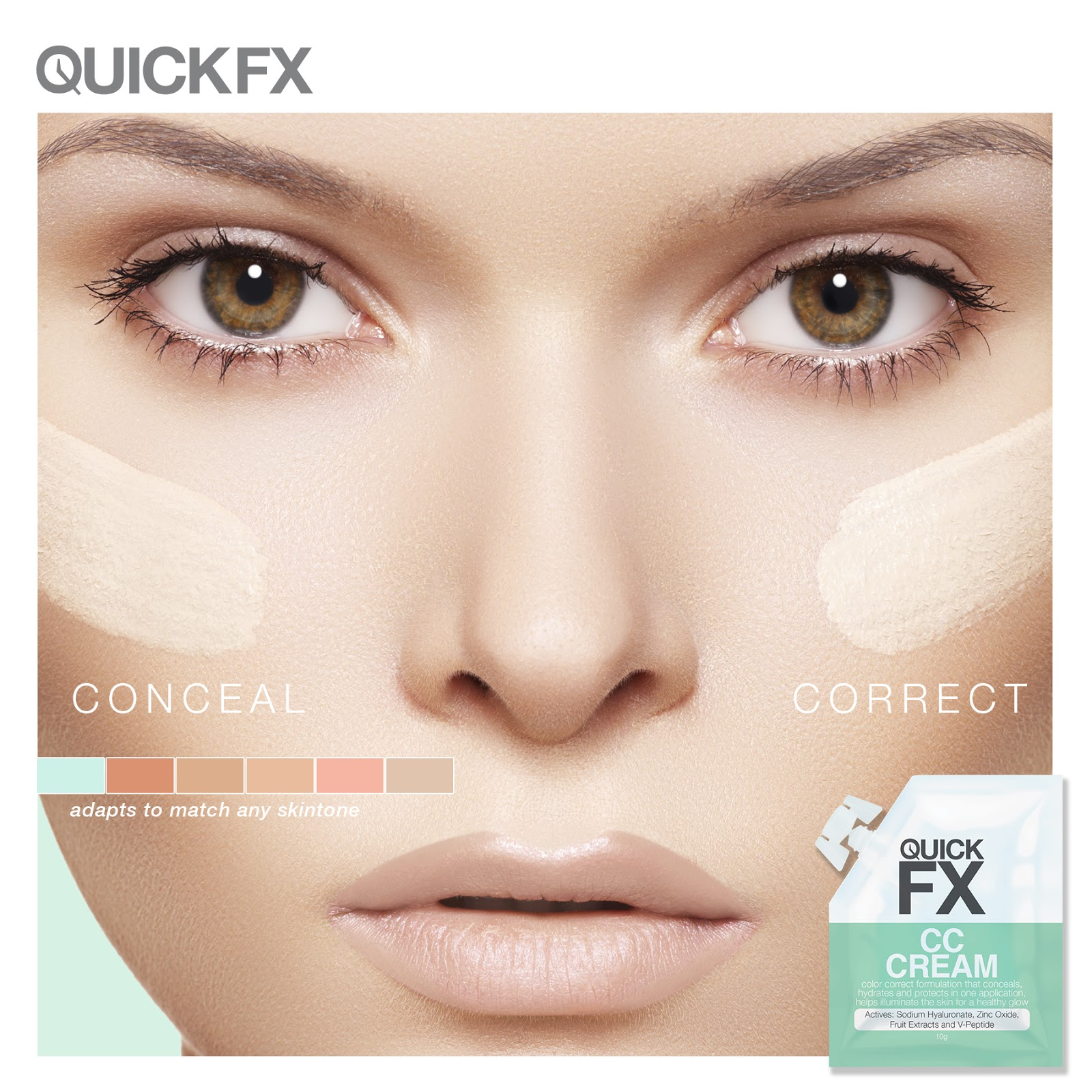 Lipsticks and Moe: Conceal and Correct with Quick FX CC Cream