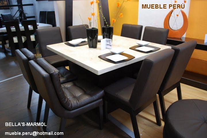 Comedores muebles per comedores modernos for Comedores finos