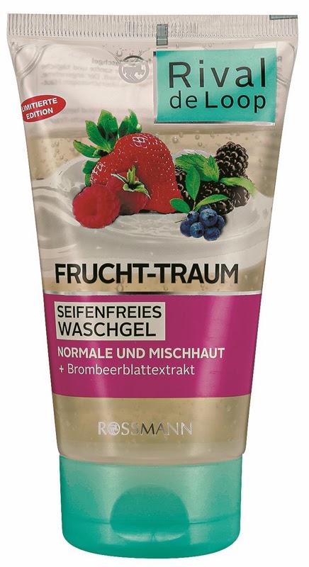 Rival de Loop Frucht-Traum Seifenfreies Waschgel  Limitierte Edition