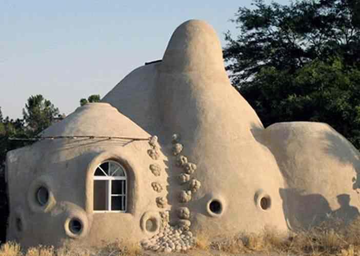 El portal de calixto casas construidas con materiales - Construccion de casas ecologicas ...