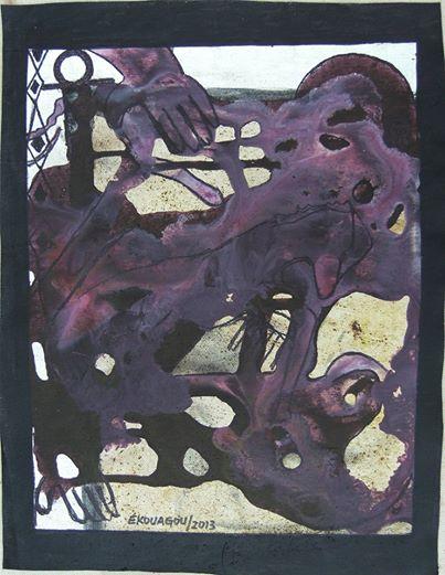 ELAN,2013,40x30Cm,acrylic on canvas