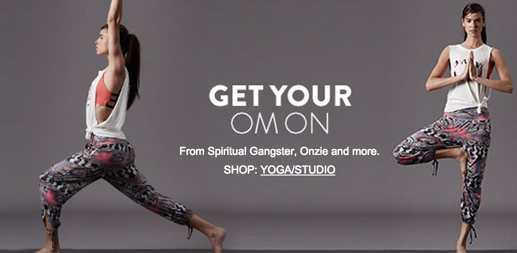 Get Your Om On At Nordstrom