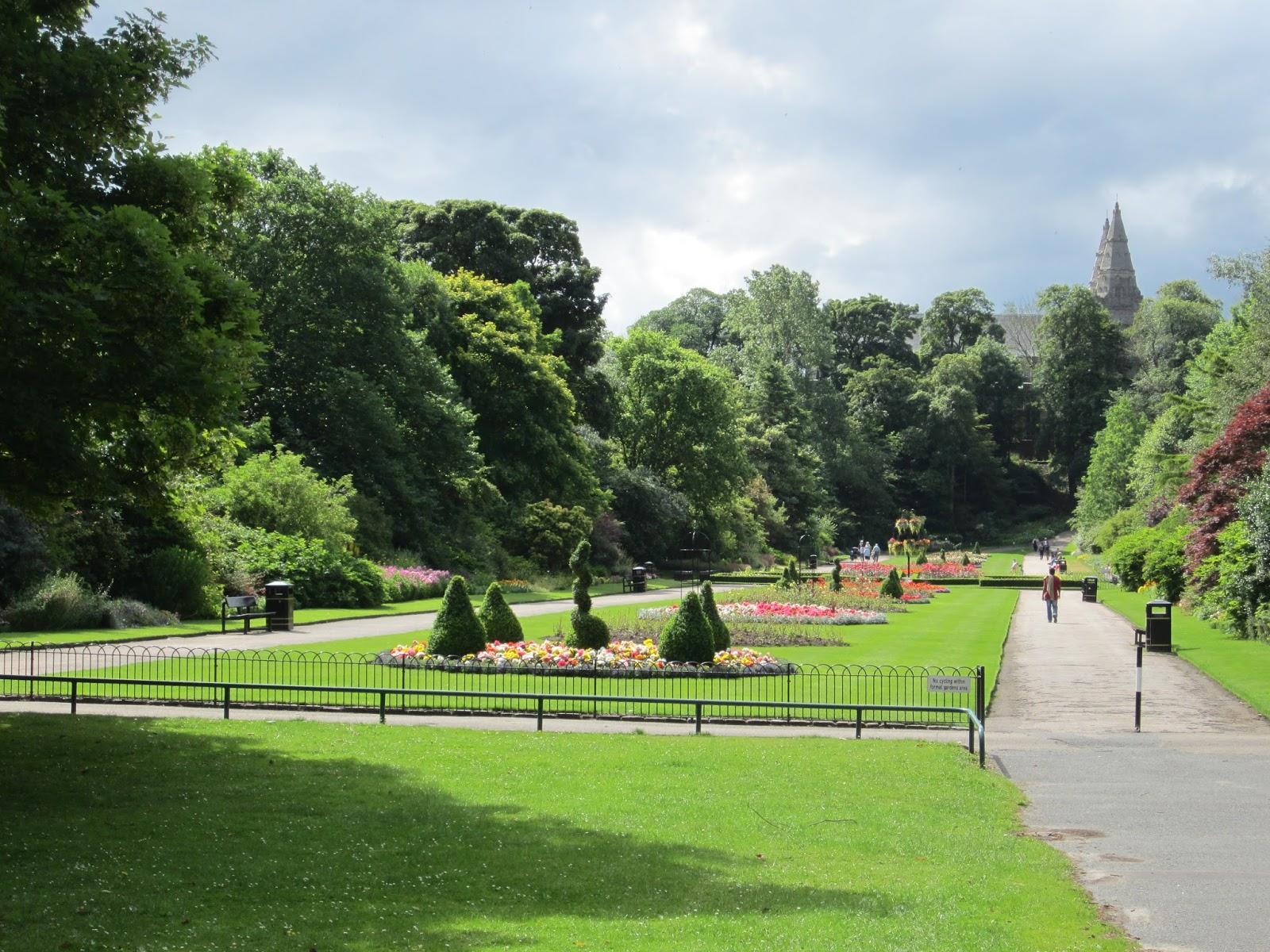 Back garden july 12th 7 aberdeen gardening - Aberdeen S Public Gardens Seaton Park