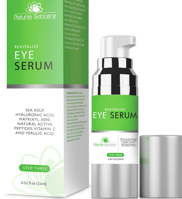 Petunia Skincare - Revitalize Eye Serum - 15ml - 28.77$