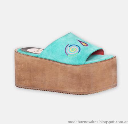 Sandalias, suecos y zapatos primavera verano 2015 Hoku Shoes.