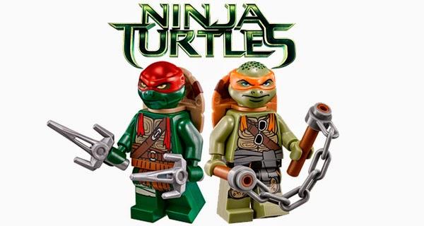 """Lego lanza tres sets de """"Las Tortugas Ninjas"""" por el inminente estreno de """"Ninja Turtles"""""""
