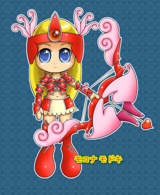 Chibi Genevieve por mokona-chan