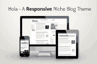 hola responsive blogger template